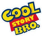 COOL STORY BRO Funny Parody Design For Rat Look VW Vinyl Car sticker decal 120x87mm